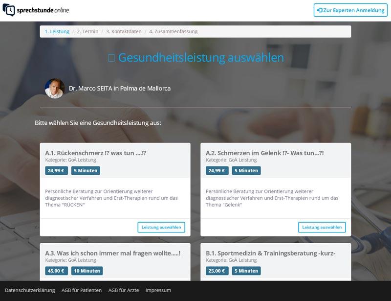 Orthopäde & Sportmediziner Dr. Marco Seita bietet online Beratung