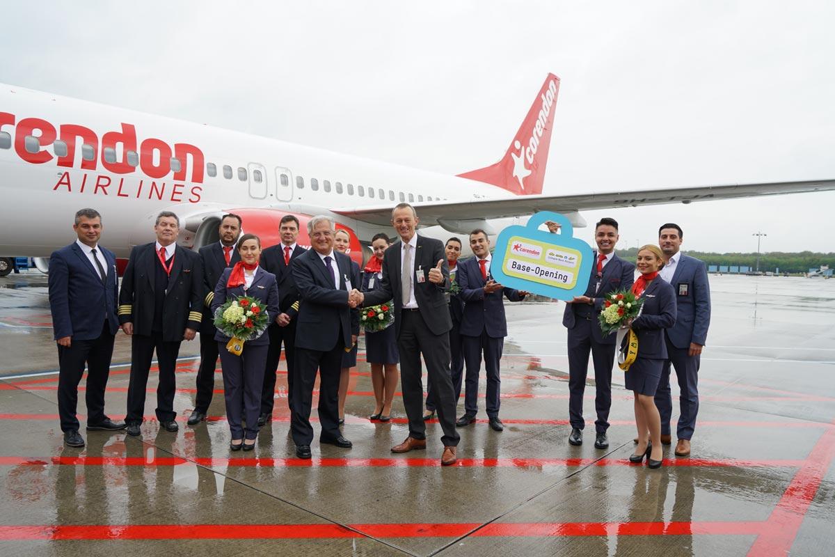 Stationseröffnung Corendon Airlines