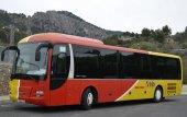 """Der neue """"Busbahnhof"""" in Port de Pollença ist in Betrieb"""