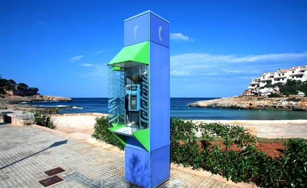 Telefonzelle in Spanien