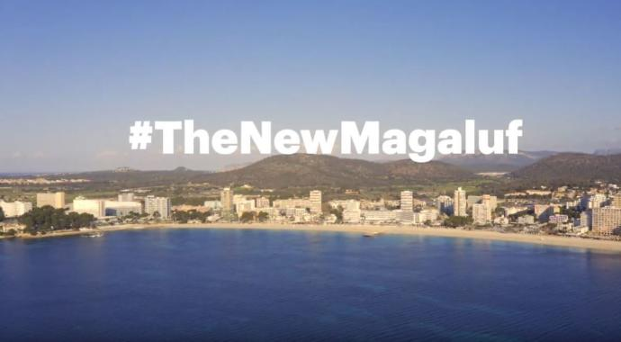 """Meliá Kampagne """"TheNewMagaluf"""""""