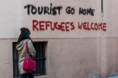 """""""Tourist go home"""": Protest-Graffiti entsetzen Mallorca-Besucher"""