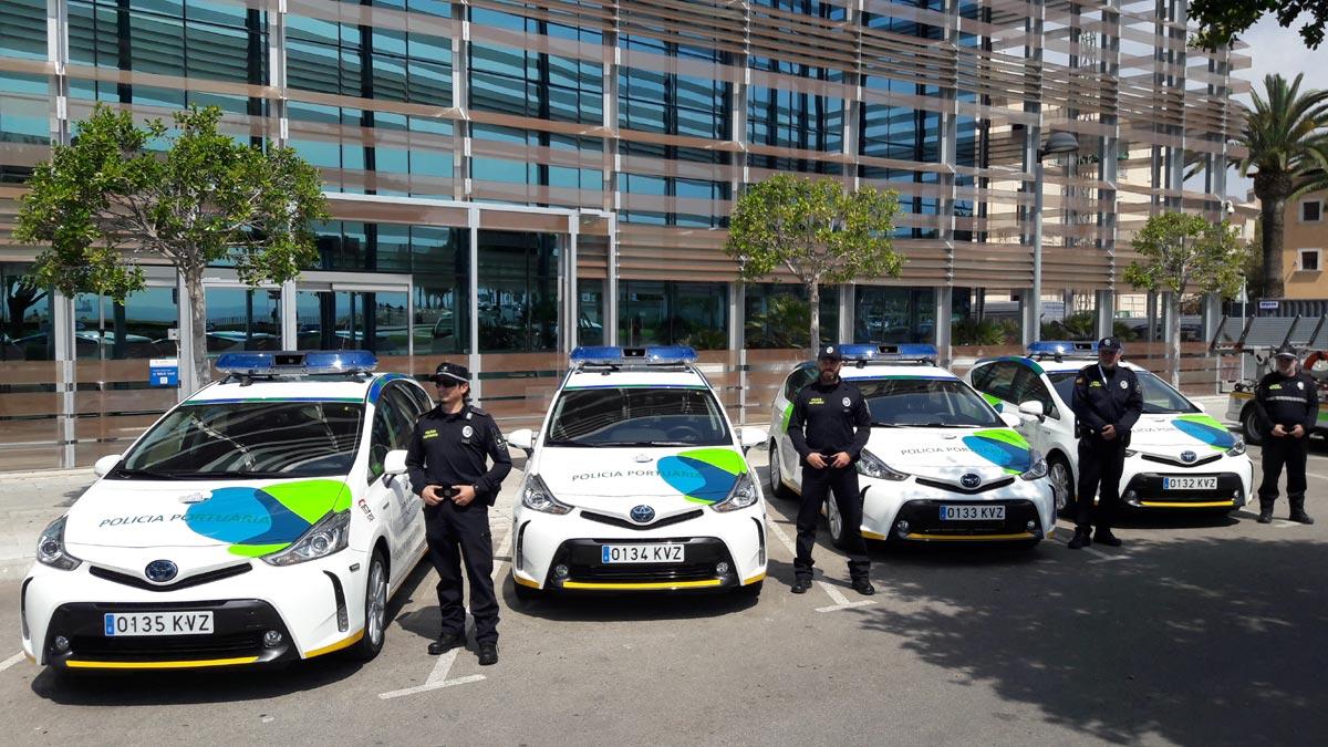 Hafenbehörde der Balearen (APB) Hybridfahrzeuge Toyota Prius