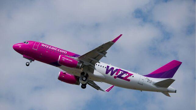 Flugzeug der Wizz Air