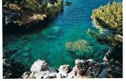 Die Farben des Meeres bei Sa Calobra