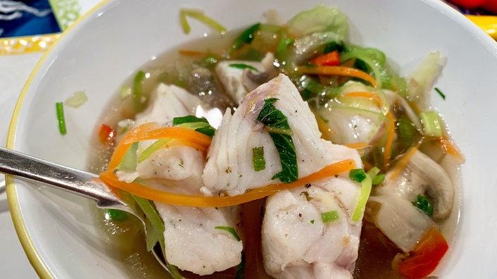 Fischsuppe nach Thai-Art