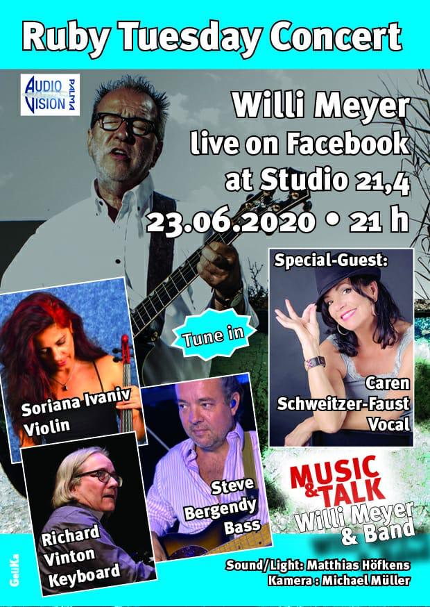 Ruby Tuesday Concerts - Willi Meyer verbucht tolle Erfolge