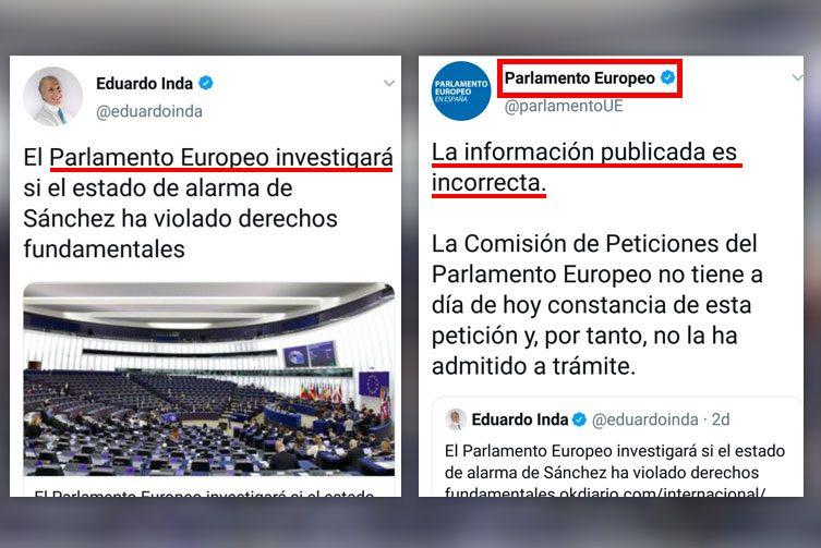 Europäisches Parlament untersucht, ob der Alarmzustand von Sanchez die Grundrechte verletzt hat