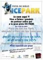 ICE PARK pista de hielo en Parc de Ses Estacions de Palma