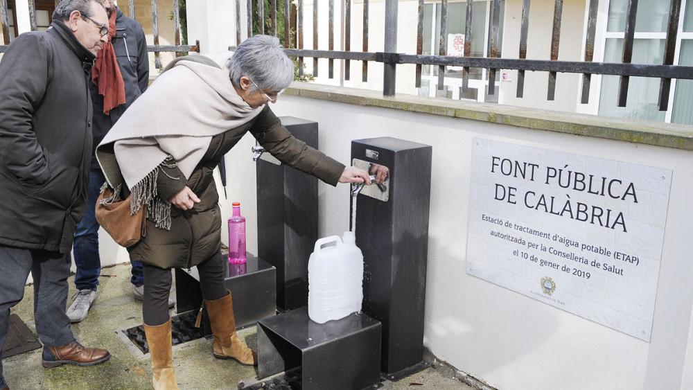 Kostenloses Trinkwasser für Mahon