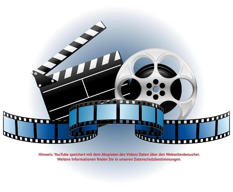 Video mit Hinweis auf Datenschutz