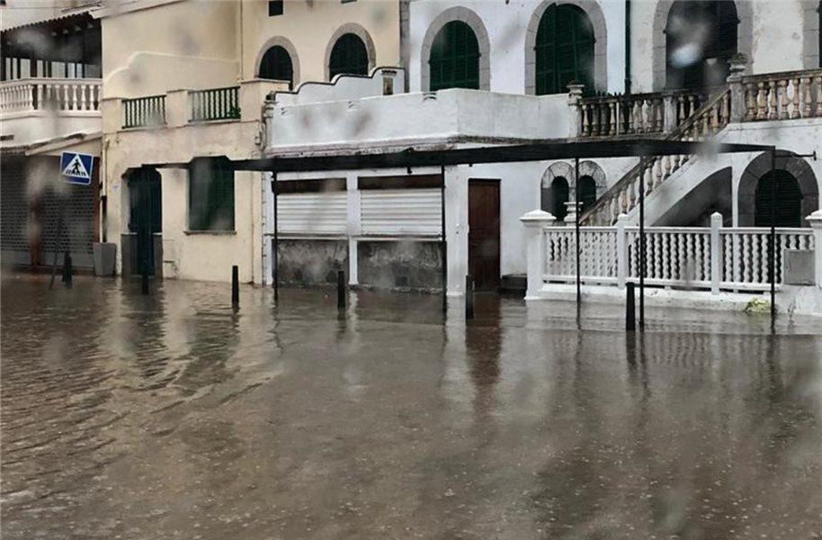 Überflutungen auf Mallorca