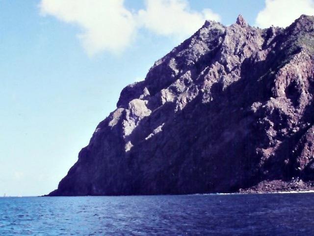 Stände sucht man auf Saba vergeblich.