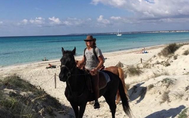 Reiten auf Mallorca mit Pedro kein Problem