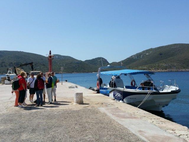 Das Boot von Excursions a Cabreara.