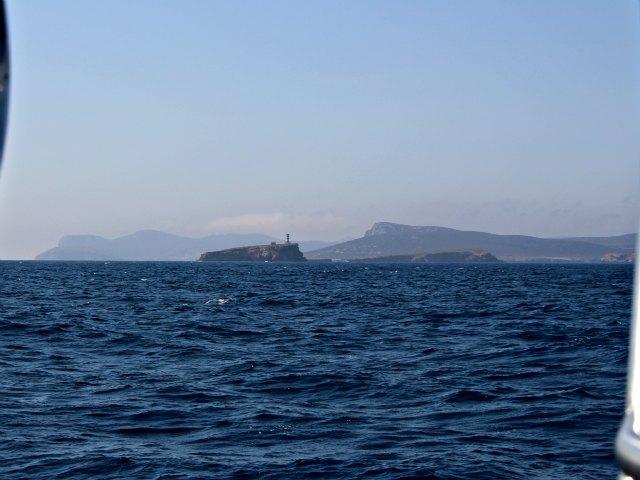 Die Insel Cabrera ist 5 Seemeilen von Mallorca entfernt