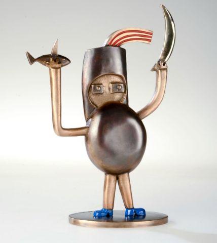 Gustavo - eine Skulptur