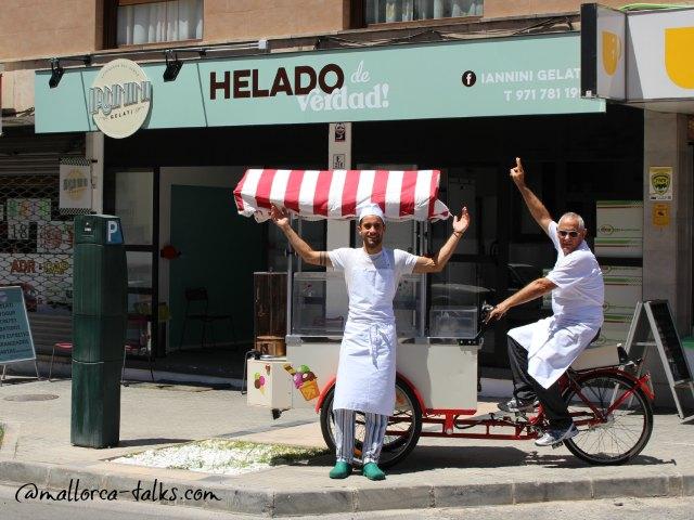 Vater und Sohn präsentieren Iannini Helado de Verdad!