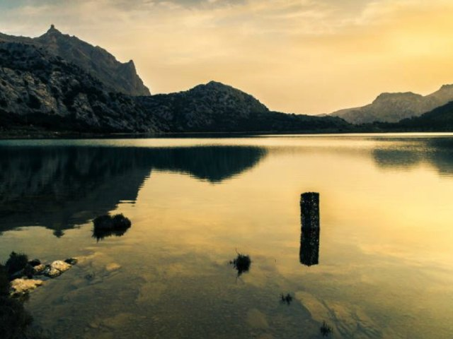 Tramuntana Gebirge Mallorca