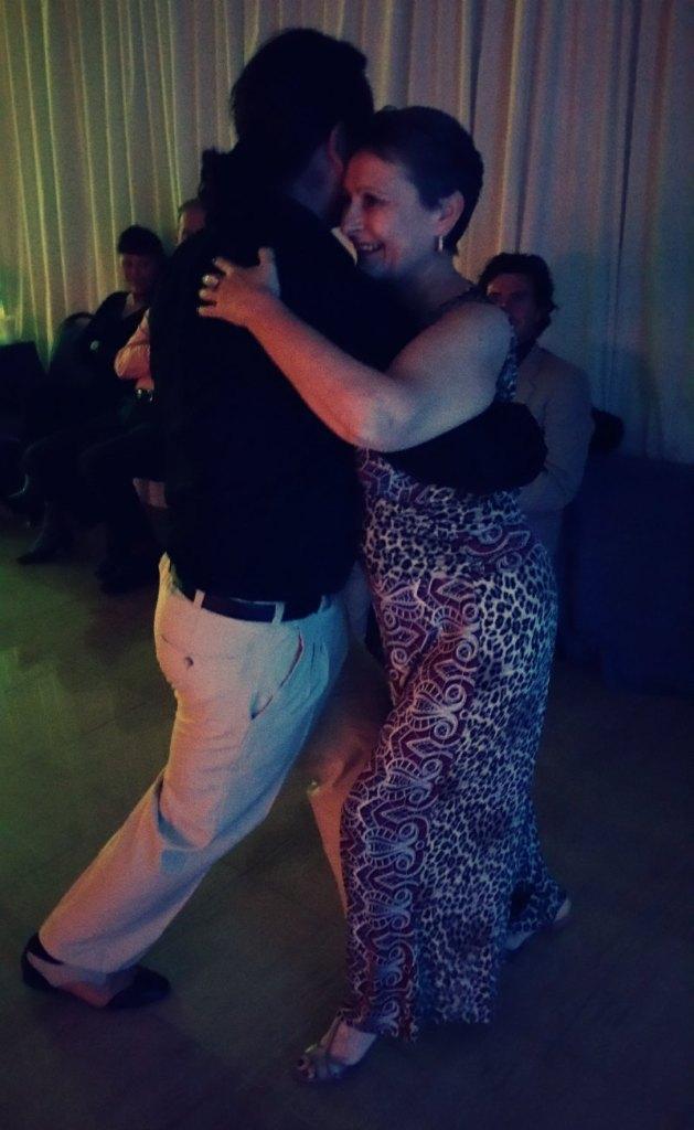 Astrid tanzt Tango auf Mallorca
