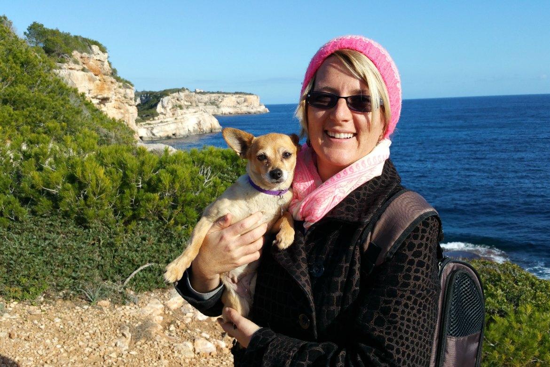 Winter-Spaziergang auf Mallorca mit Elfie