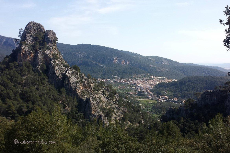 Ausblick Wanderung Mallorca