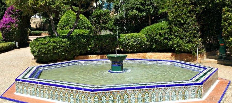 Gärten von Marivent - Brunnen