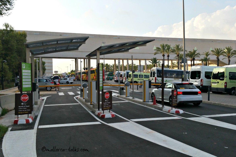 Parken am Flughafen Palma