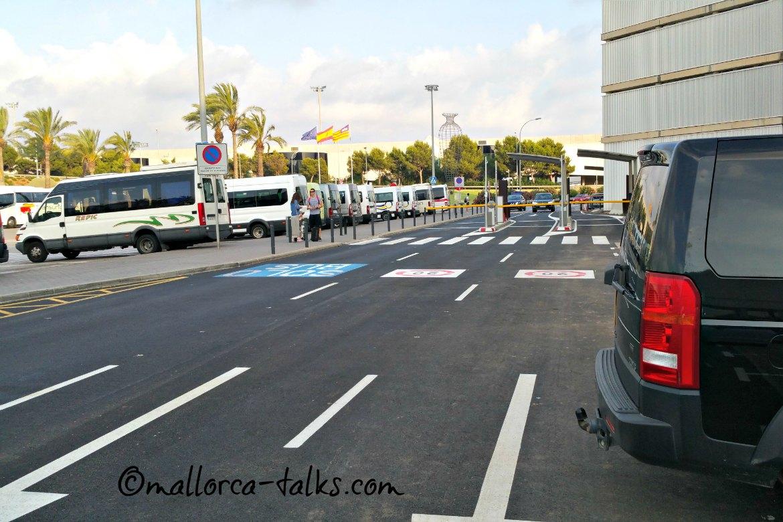 Neuerung Kurzzeit Parken am Flughafen Palma