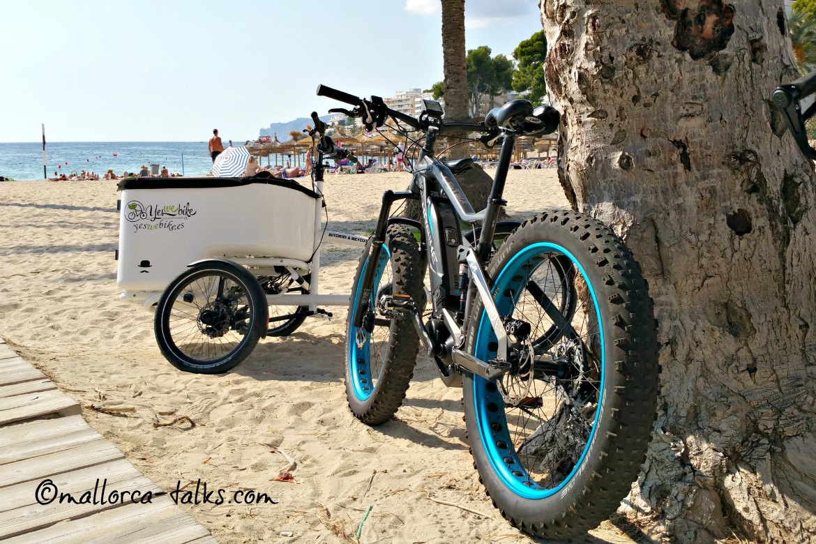 E-Bikes auf Mallorca - Yes we bike Santa Ponsa
