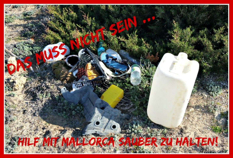Nekropolis von Son Real - Müllproblem Mallorca