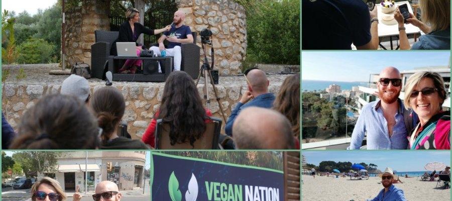 Mallorca Talks to VeganNation at Villa Vegana Selva