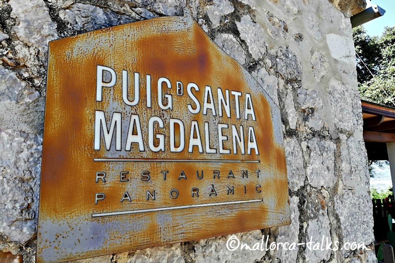 Restaurant Puig de Santa Magdalena