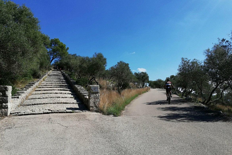 Treppe zur Ermita de Magdalena