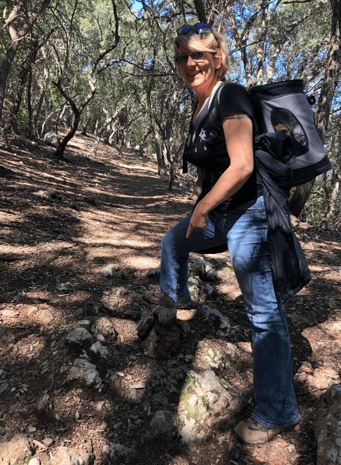 Steinmännchen auf dem Weg