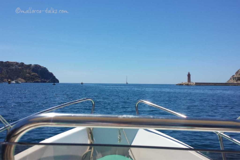 Boot fahren in Puerto Andratx Fotos von Mallorca Talks