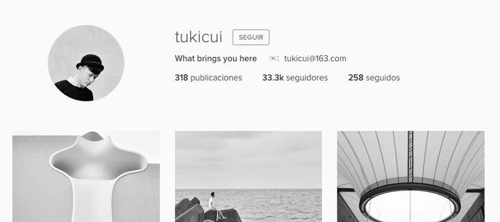 Fotógrafos en Instagram. Tukicui