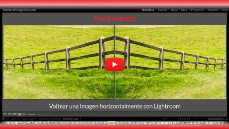 Voltear horizontal lightroom