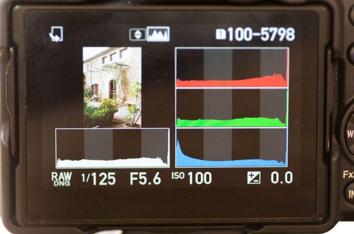 Histograma RGB