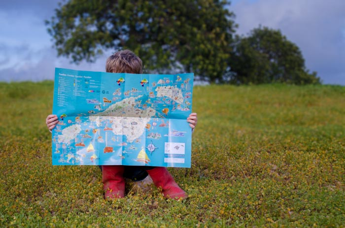 Mallorca mit Kindern: Ausflugstipps und Aktivitäten auf einer Karte
