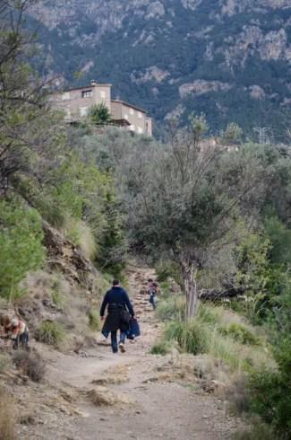 Wandern in Deia