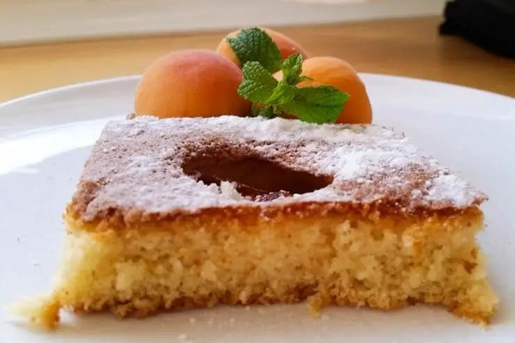 Mallorca Rezepte für Kinder - Aprikosenkuchen