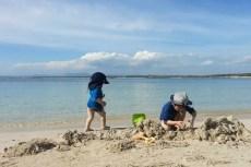 strand colonia de sant jordi