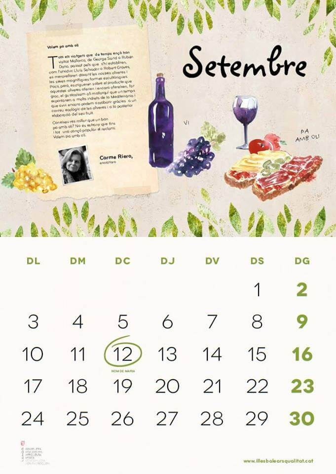 Mallorquinischer Wein - Saisonkalender September