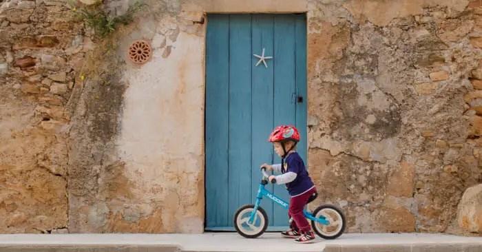 Radfahren mit Kindern auf Mallorca