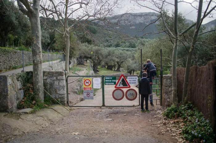 Wandern mit Kindern in der Tramuntana