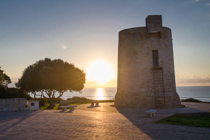 Piratenwachturm in Cala Santanyí