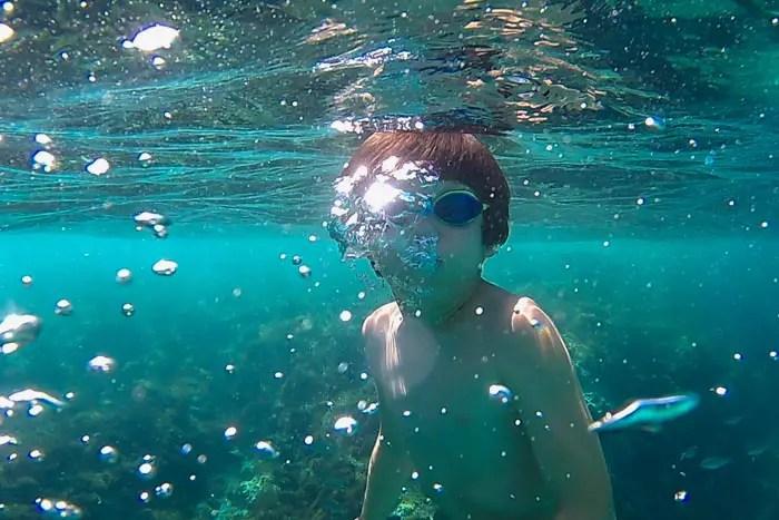 Mallorca im Juli - Immer im Wasser