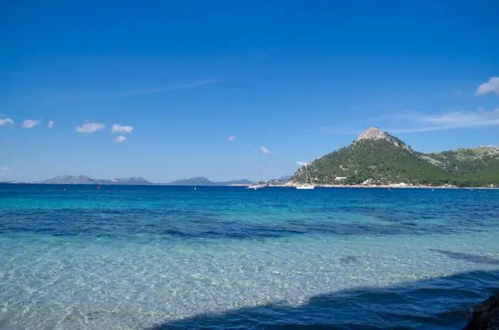 Der Strand Playa de Formentor