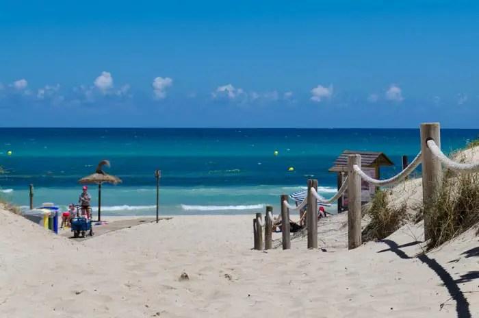 Playa De Muro Karte.Playa De Muro Strandsteckbrief Mallorca Fur Kinder
